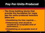 pay for units produced6