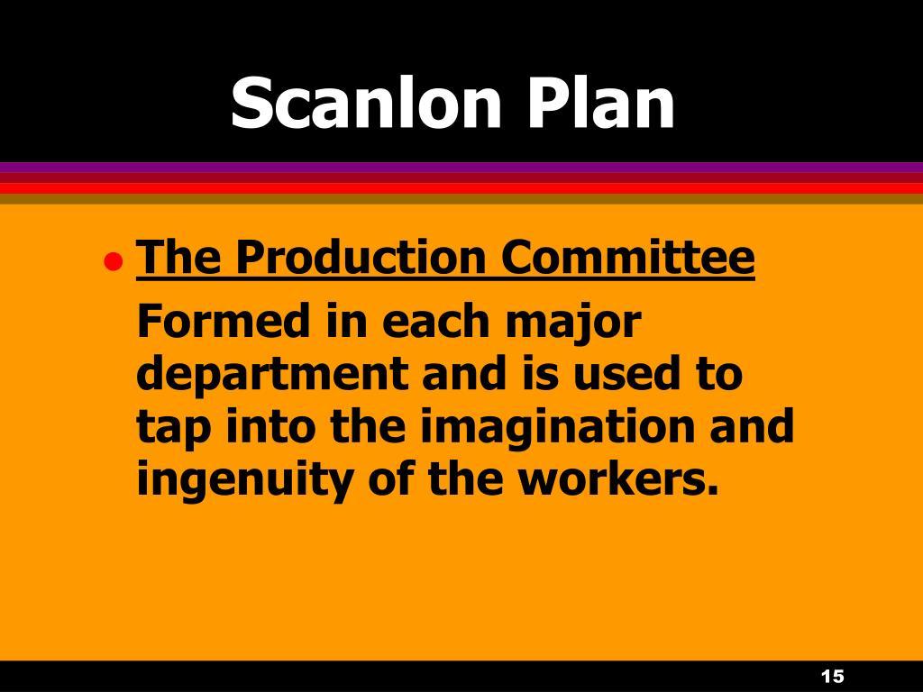 Scanlon Plan