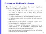 economic and workforce development83