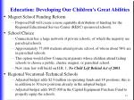 education developing our children s great abilities34
