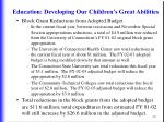 education developing our children s great abilities40