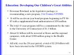 education developing our children s great abilities44