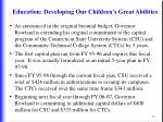 education developing our children s great abilities45