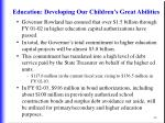 education developing our children s great abilities46