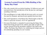 lessons learned from the 1980s raiding of the rainy day fund5