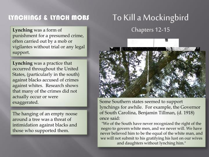 to kill a mockingbird 12 15