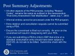 post summary adjustments6