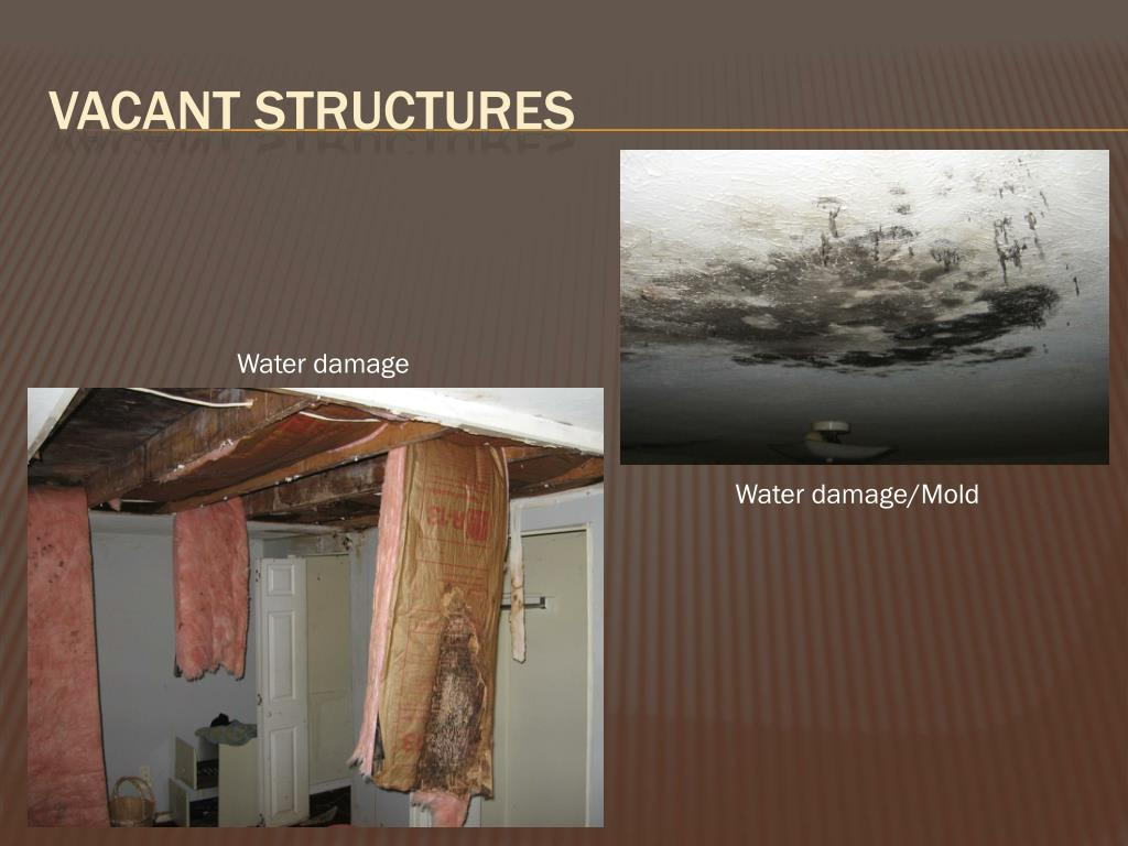 Vacant structures