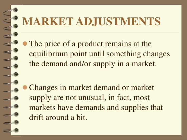 Market adjustments2