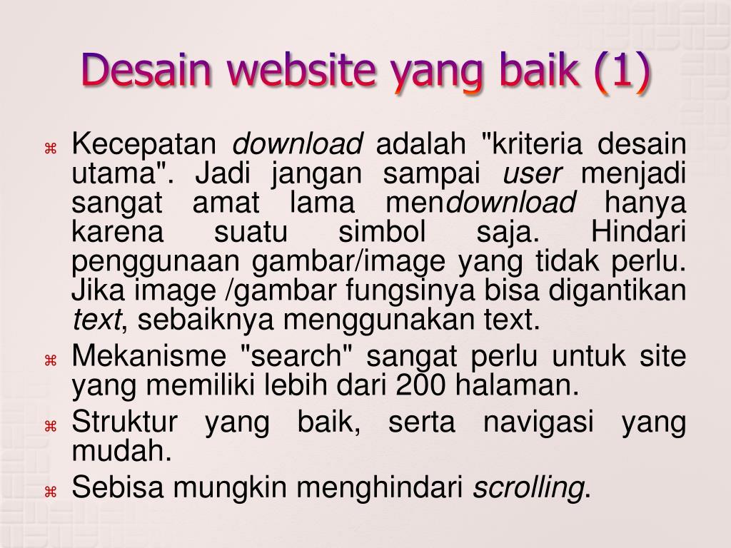 PPT - Website PowerPoint Presentation, free download - ID:1459296