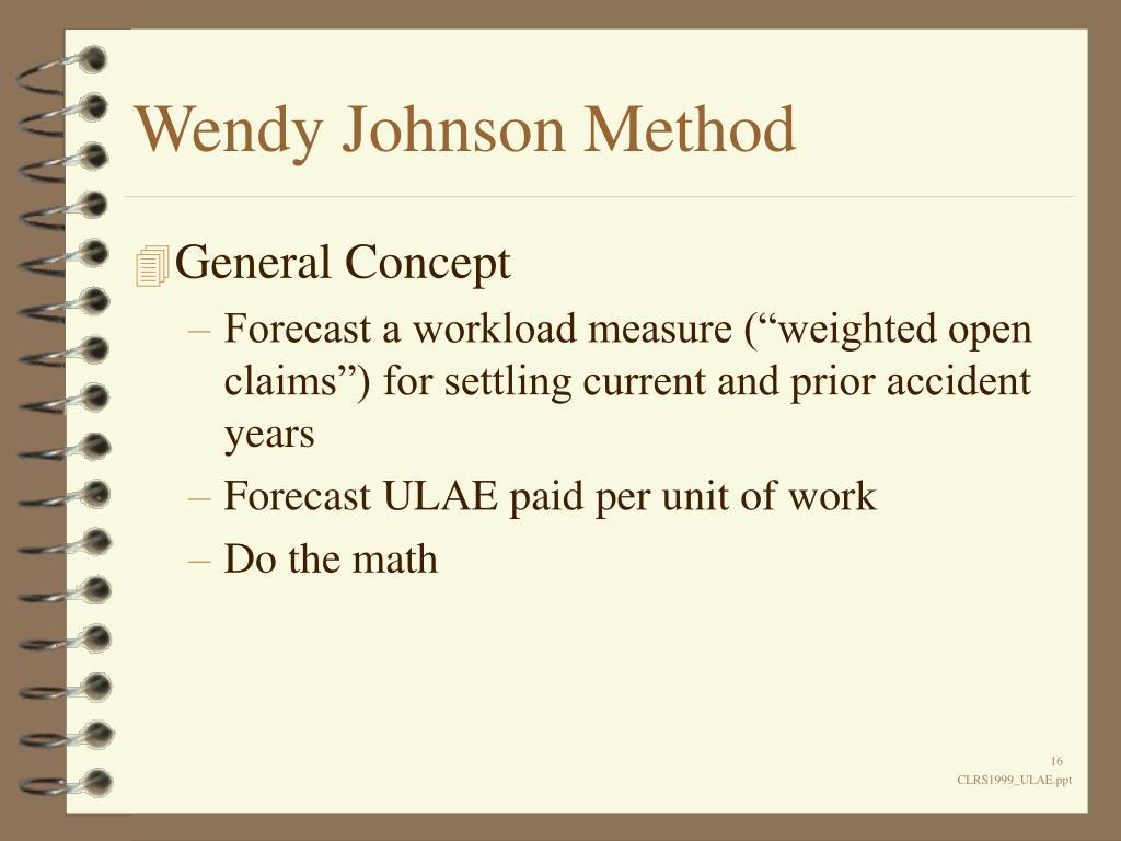 Wendy Johnson Method