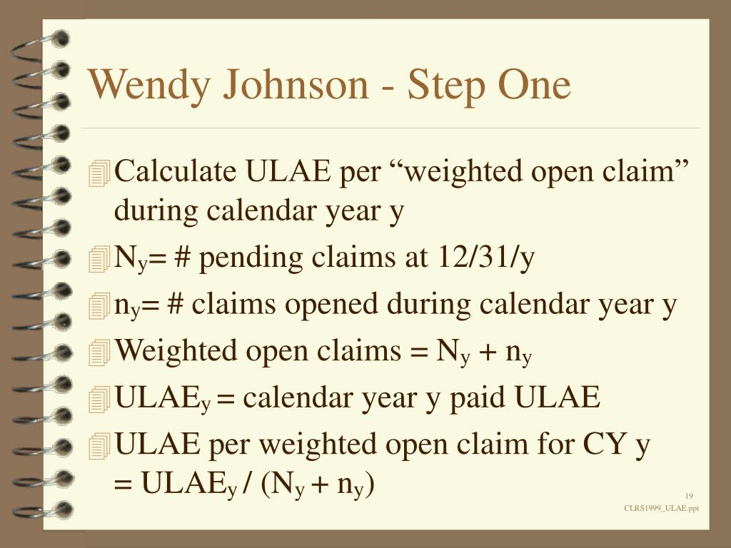 Wendy Johnson - Step One