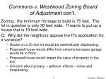 commons v westwood zoning board of adjustment con t4