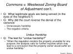 commons v westwood zoning board of adjustment con t5