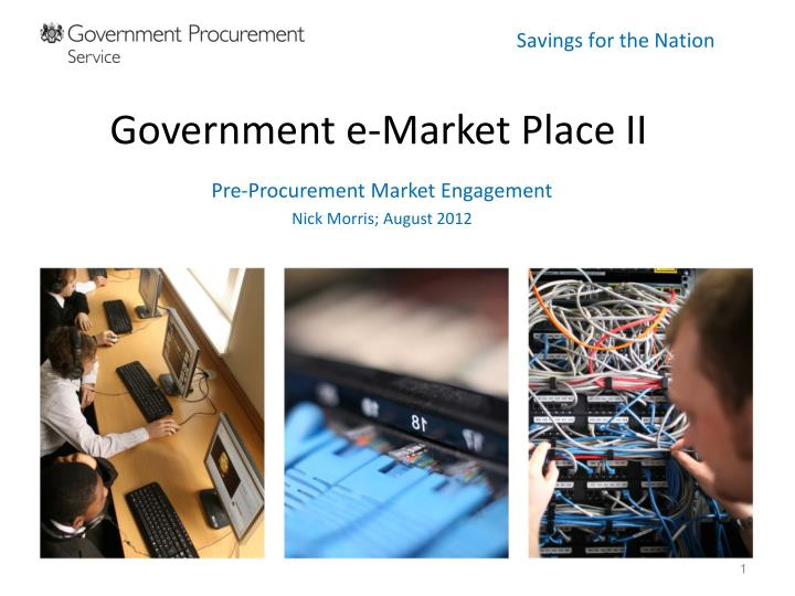 government e market place ii n.
