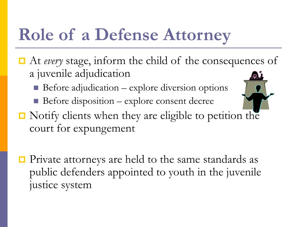 Role of a Defense Attorney