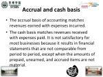 accrual and cash basis