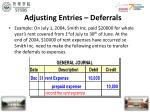 adjusting entries deferrals16