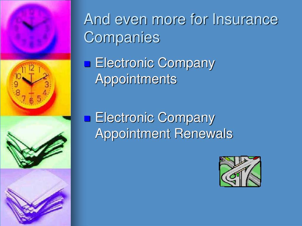 And even more for Insurance Companies