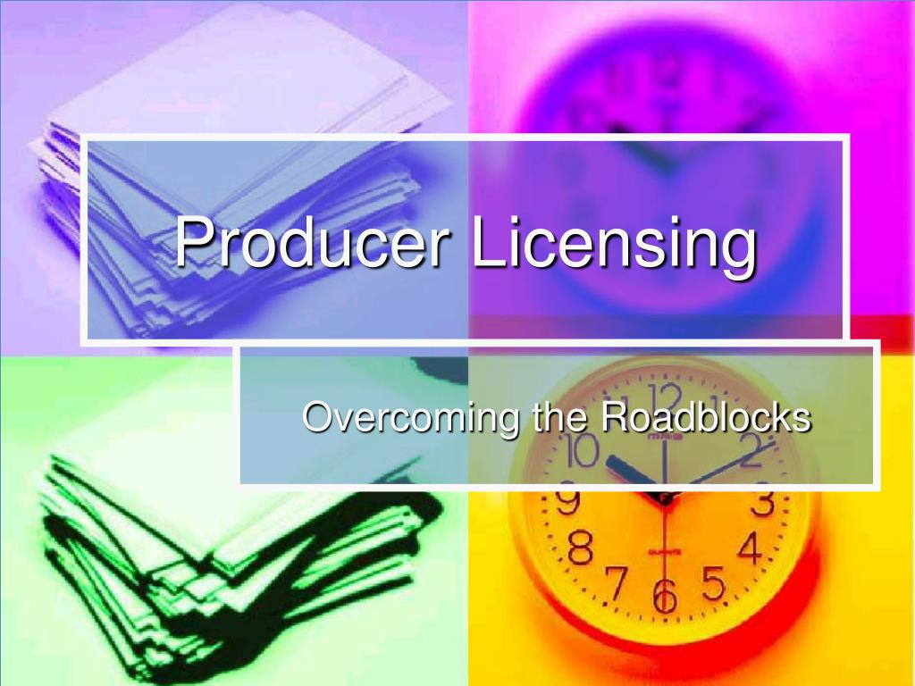 Producer Licensing
