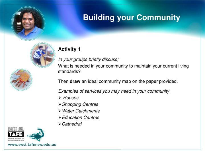 Building your Community