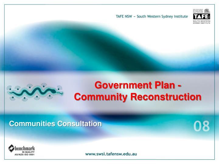 Government Plan -