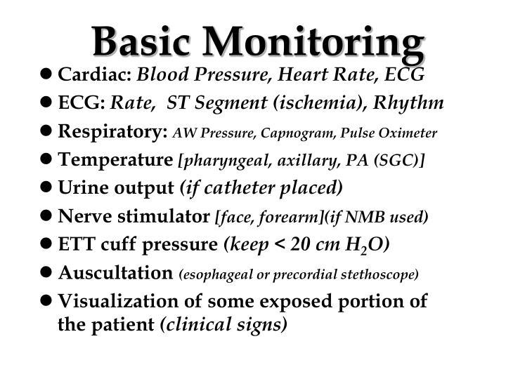 Basic Monitoring