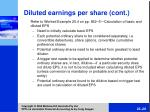 diluted earnings per share cont28