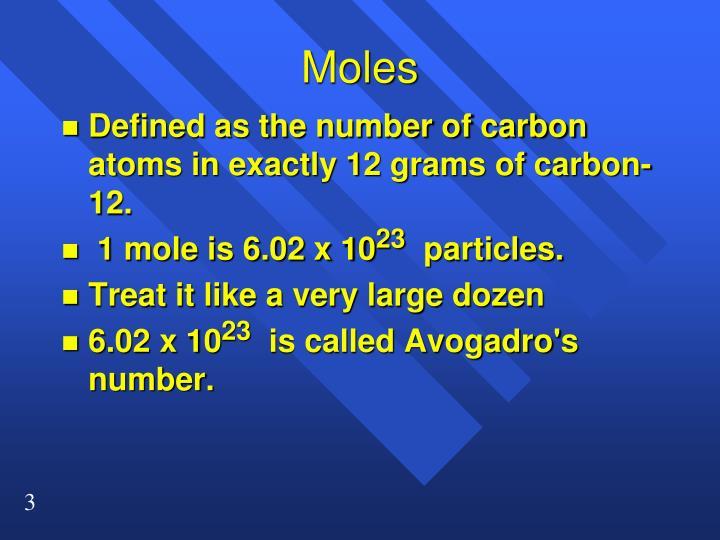Moles