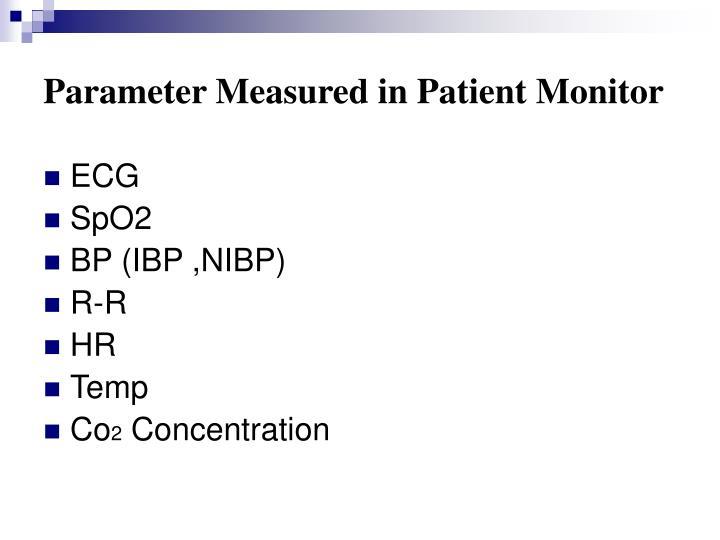 bedside monitoring system ppt