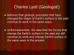 charles lyell geologist