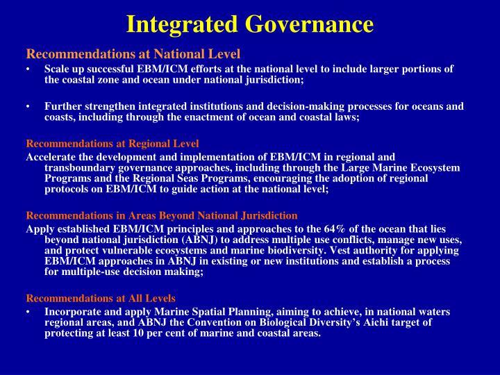 Integrated Governance