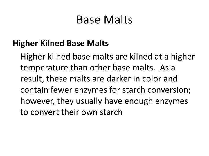 Base Malts