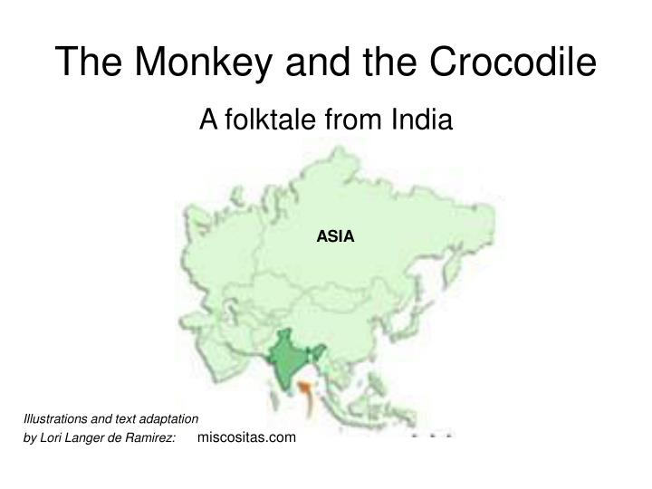 the monkey and the crocodile n.
