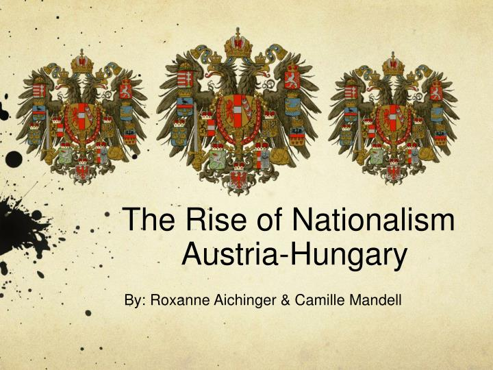 the rise of nationalism austria hungary n.