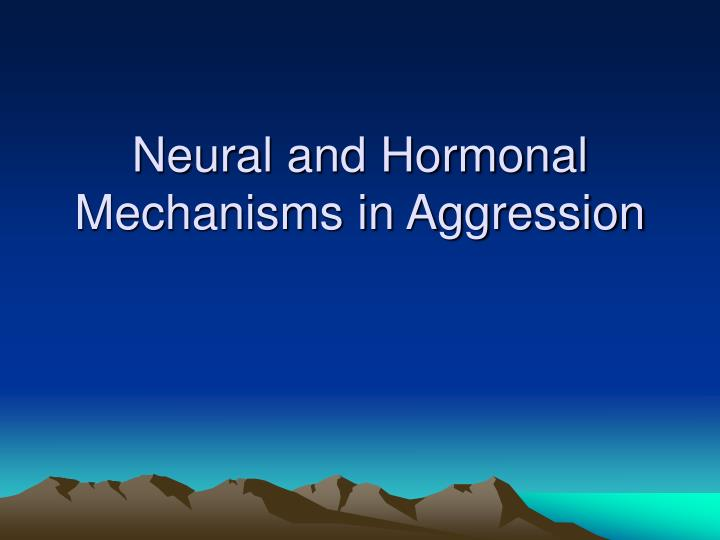 the role of neurotransmitters on aggression Neurotransmitters–a primer 2012 11 14 the cognition and behavior and while neurotransmitters are too often discussed as having a single role or.