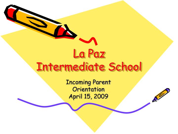 la paz intermediate school n.