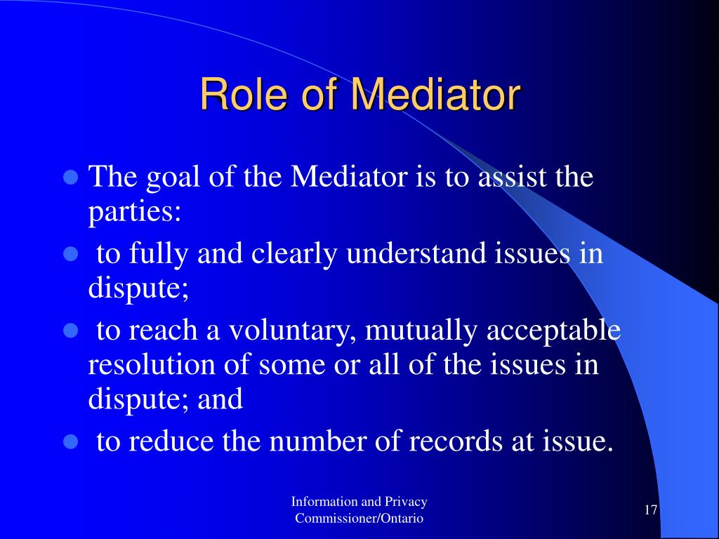 Role of Mediator