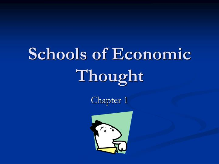 schools of economic thought n.
