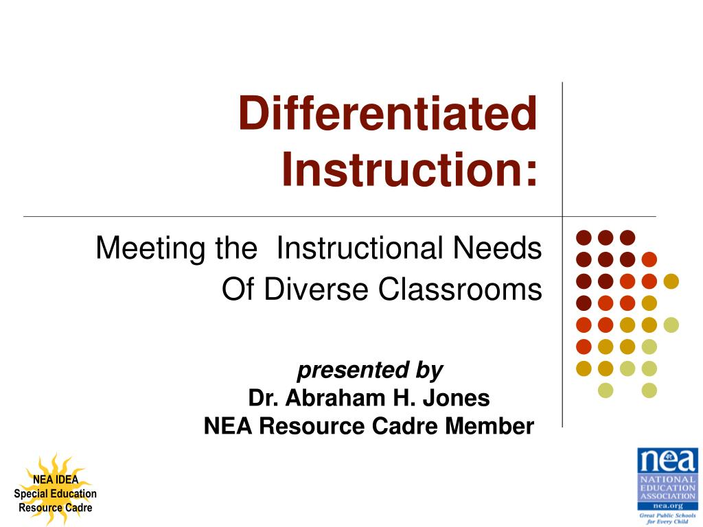 Ppt Differentiated Instruction Powerpoint Presentation Id146050