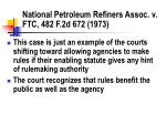 national petroleum refiners assoc v ftc 482 f 2d 672 1973