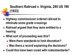 southern railroad v virginia 290 us 190 1933