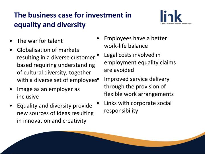 business case for investment