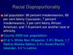 racial disproportionality