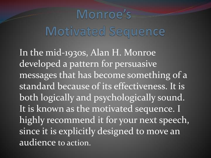 monroe s motivated sequence n.