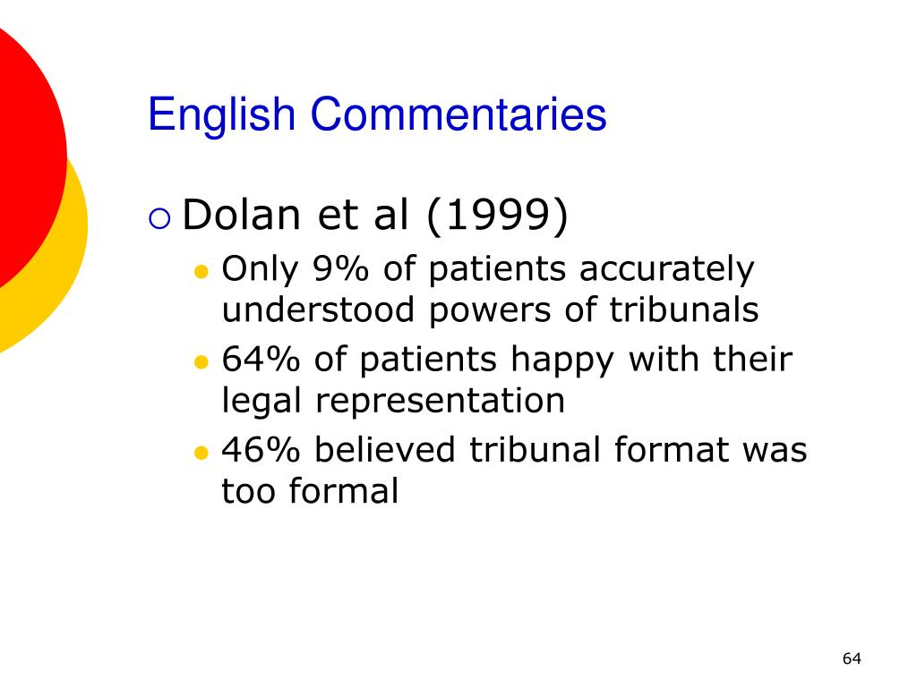 English Commentaries