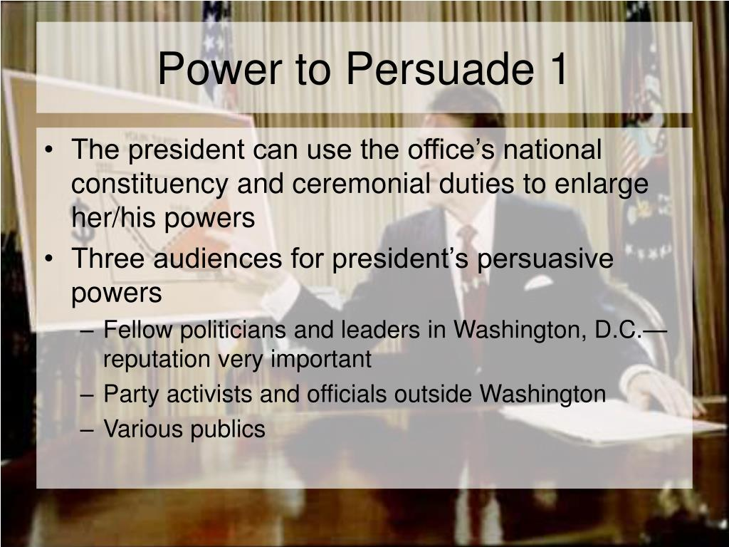 Power to Persuade 1
