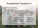 presidential transition 3