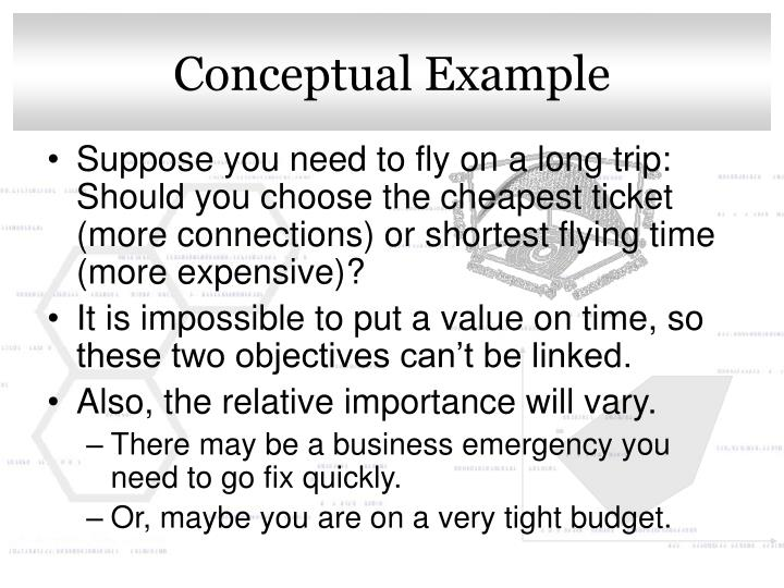 Conceptual Example