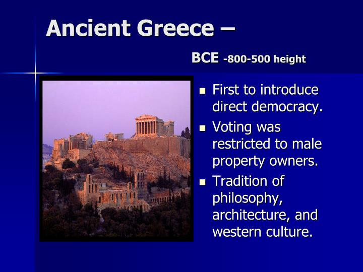 Ancient greece bce 800 500 height